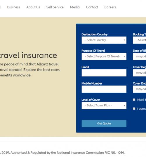 Allianz Travel Portal